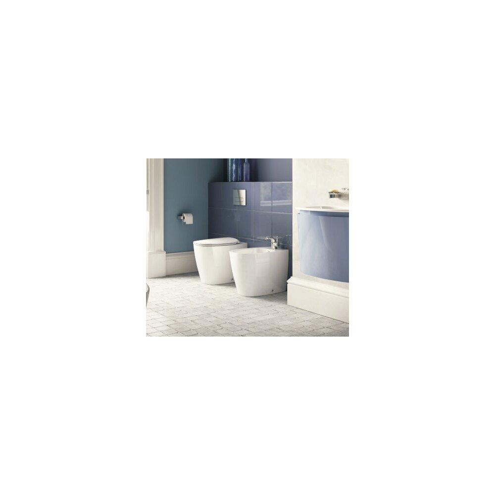 Set vas toaleta pe pardoseala btw Aquablade si capac softclose Ideal Standard Dea imagine