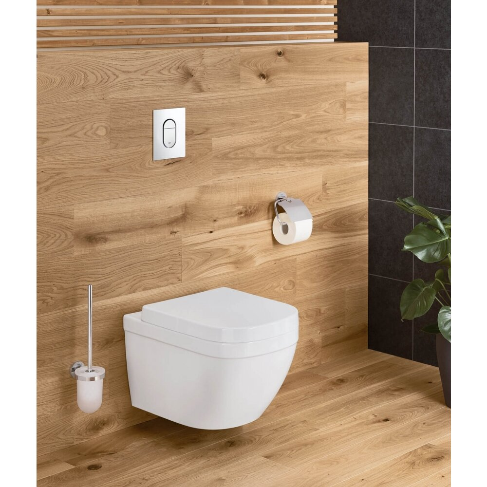 Vas toaleta suspendat compact Grohe Euro Ceramic Rimless Triple Vortex poza