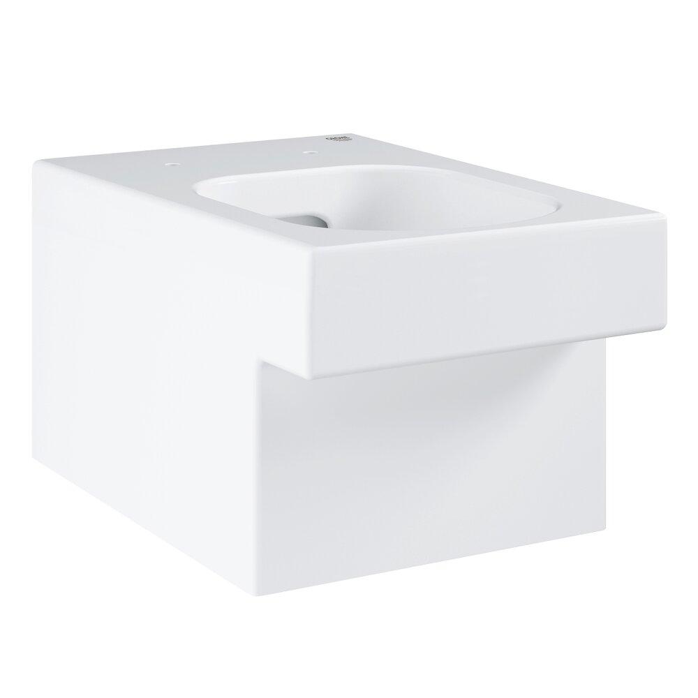 Vas Toaleta Suspendat Cube Ceramic Rimless Triple Vorte Pureguard