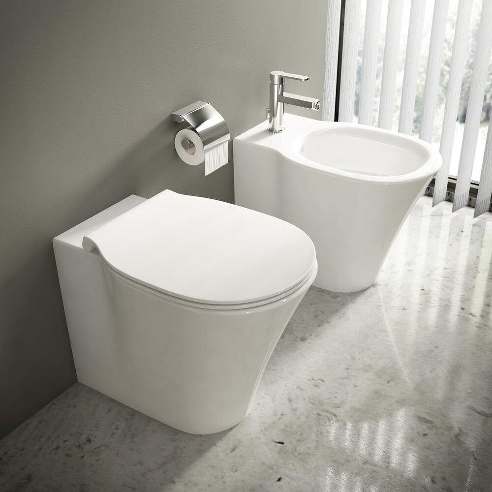 Vas wc pe pardoseala btw Ideal Standard Connect Air AquaBlade pentru rezervor ingropat imagine