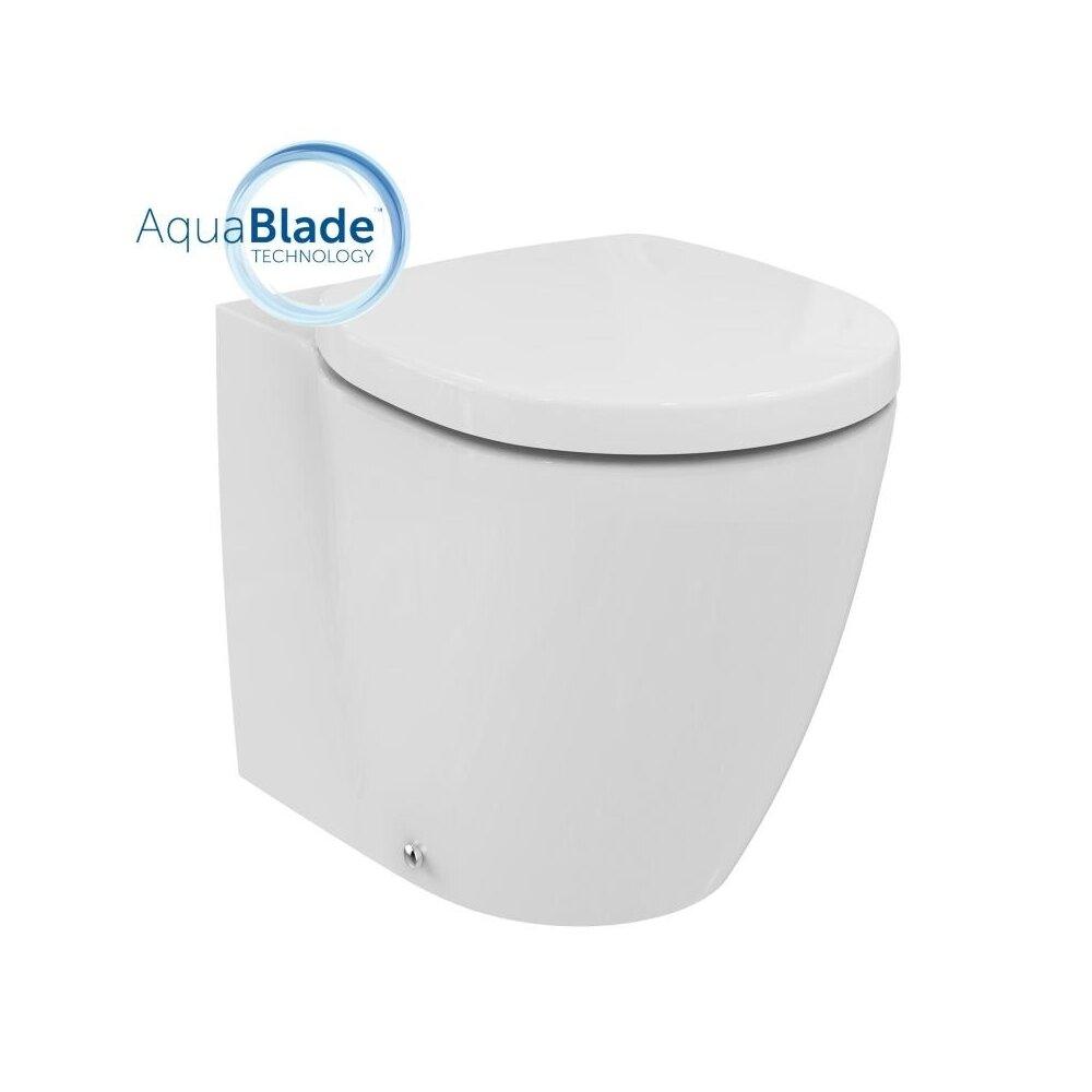 Vas wc pe pardoseala btw Ideal Standard Connect Aquablade pentru rezervor ingropat imagine