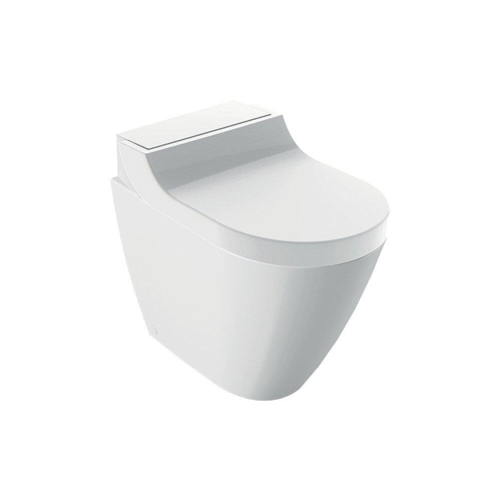Vas wc pe pardoseala Geberit Aquaclean Tuma Classic cu functie de bideu electric alb alpin