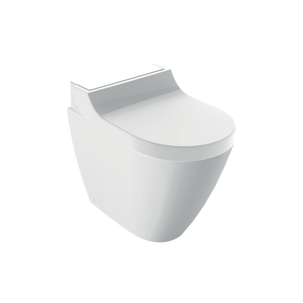 Vas wc pe pardoseala Geberit Aquaclean Tuma Comfort alb cu functie de bideu electric poza