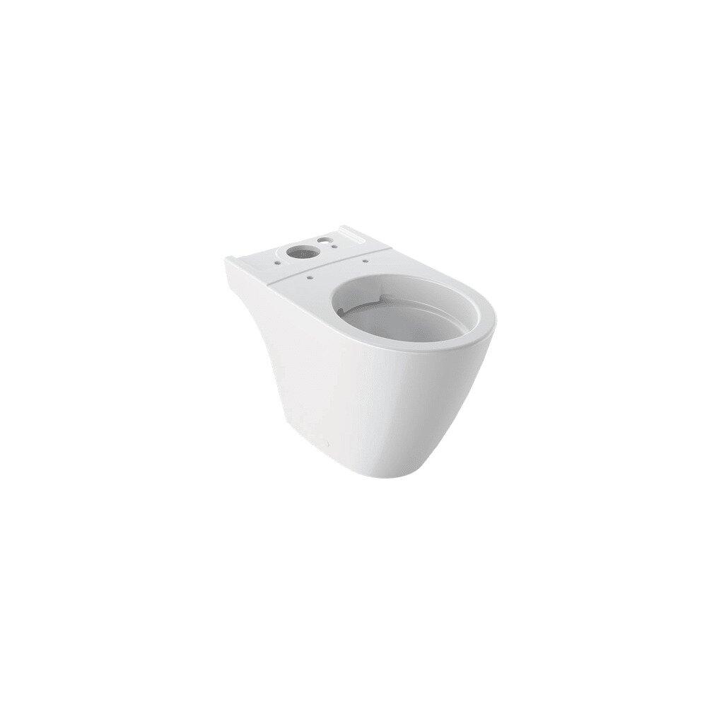 Vas wc pe pardoseala Geberit iCon Rimfree pentru rezervoare aparente imagine