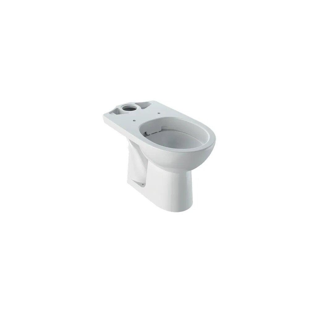 Vas wc pe pardoseala Geberit Selnova cu spalare verticala evacuare orizontala forma partial inchisa neakaisa.ro
