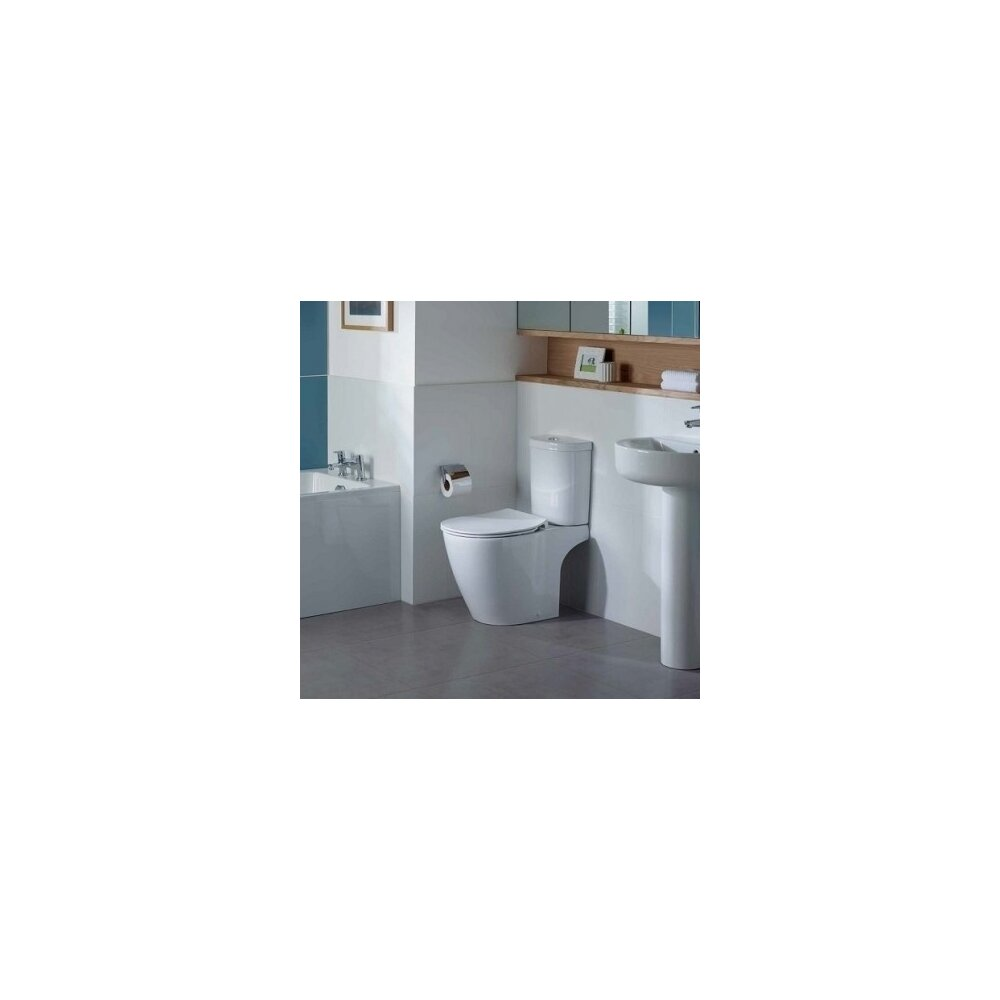 Vas wc pe pardoseala Ideal Standard Connect Aquablade neakaisa.ro