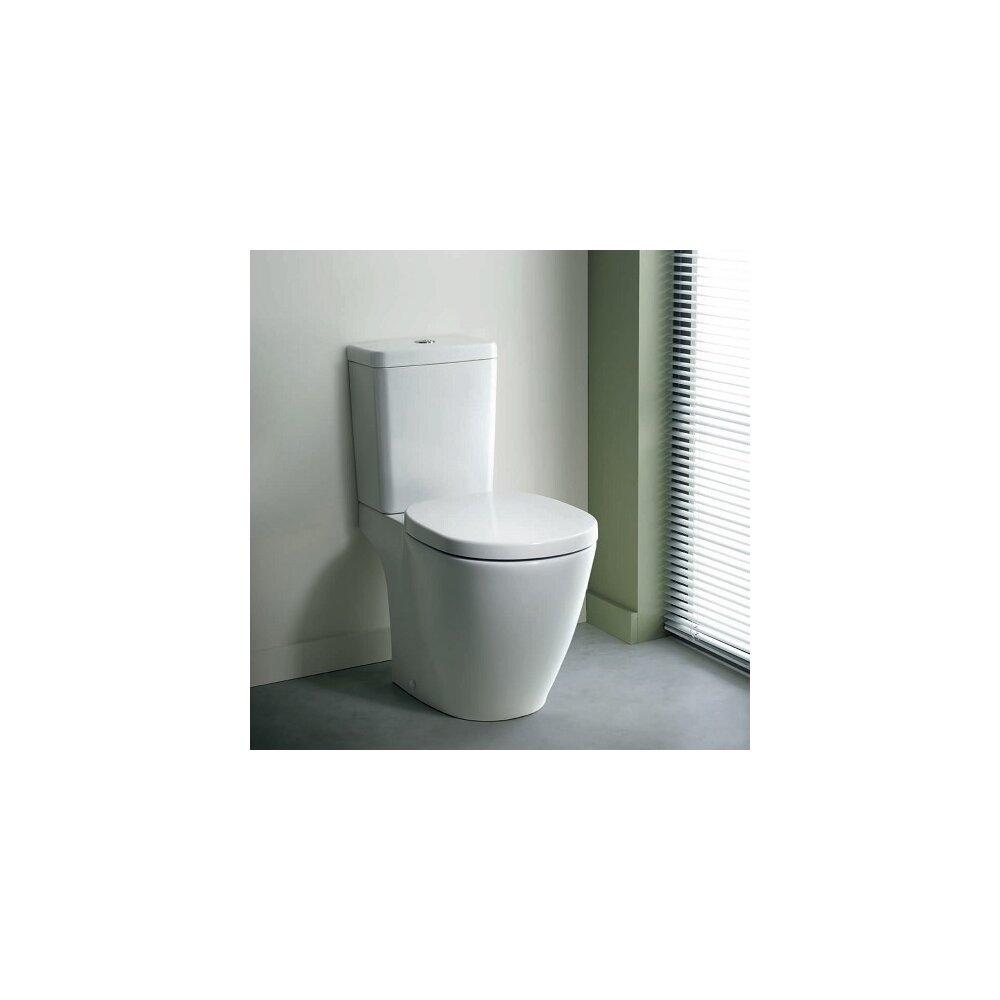 Vas wc pe pardoseala Ideal Standard Connect cu evacuare in pardoseala