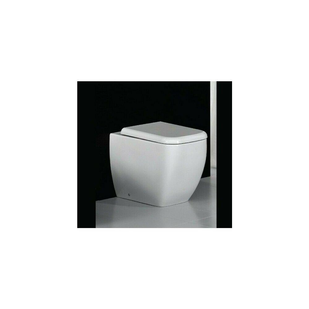 Vas wc pe pardoseala RAK Ceramics Metropolitan BTW pentru rezervor incastrat poza