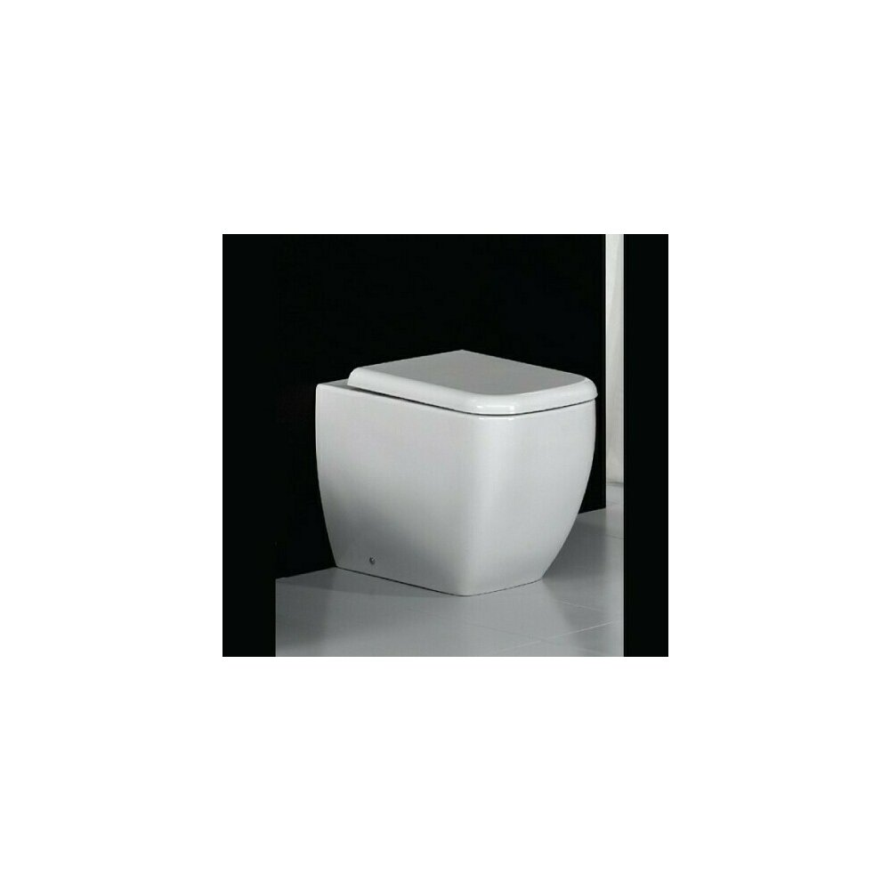 Vas wc pe pardoseala RAK Ceramics Metropolitan BTW pentru rezervor incastrat