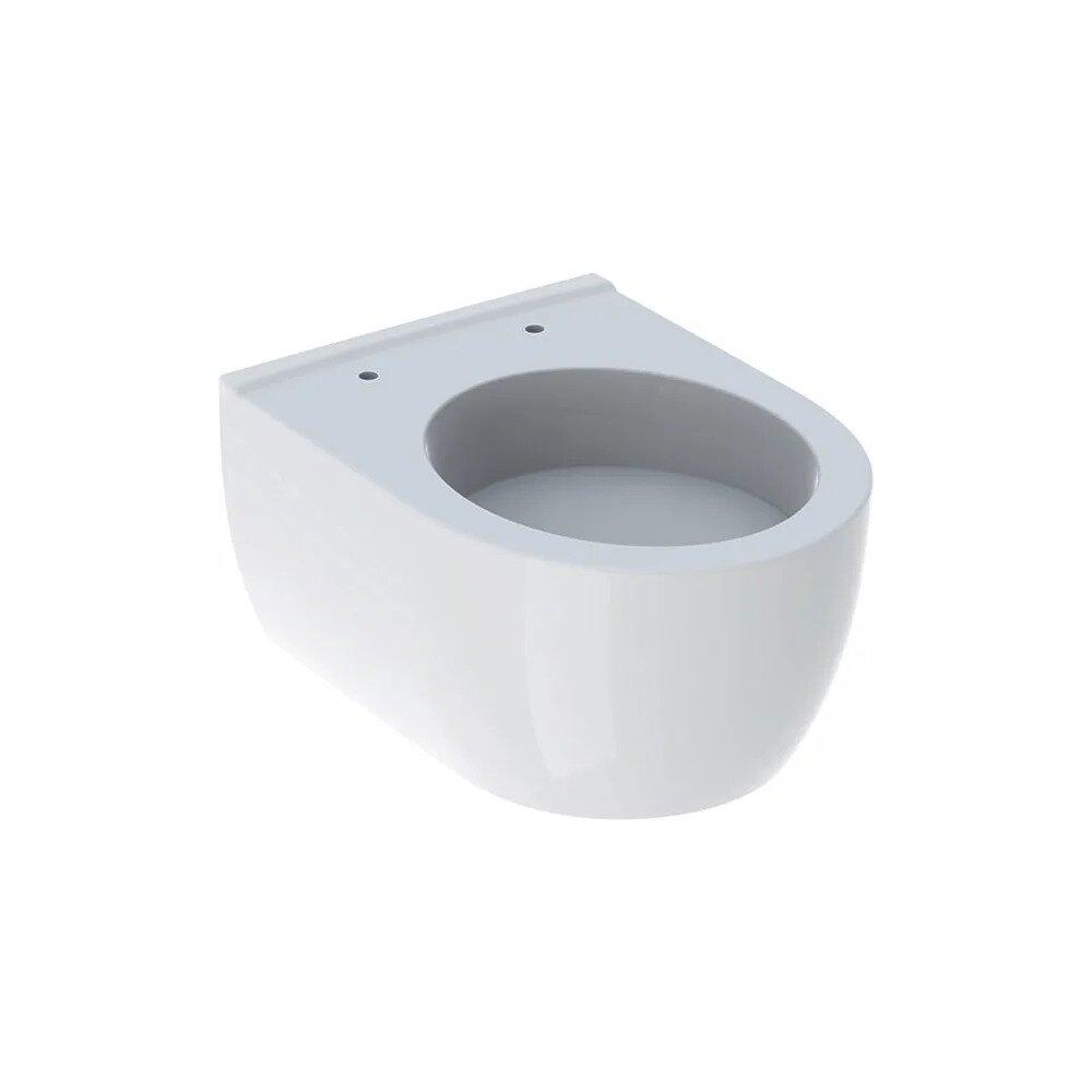 Vas wc suspendat Geberit Icon fara capac alb cu spalare verticala