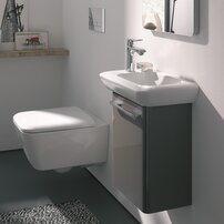 Vas wc suspendat Geberit iCon Square Rimfree