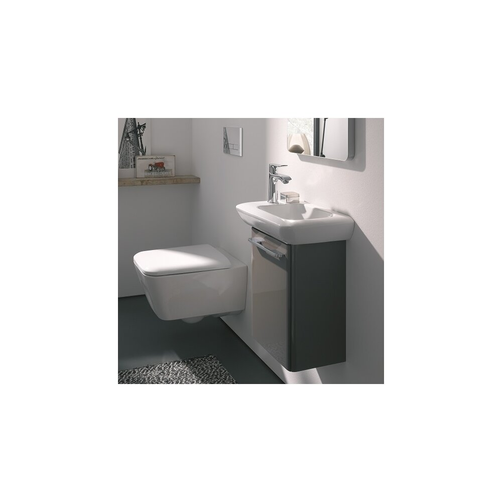 Vas wc suspendat Geberit iCon Square Rimfree poza