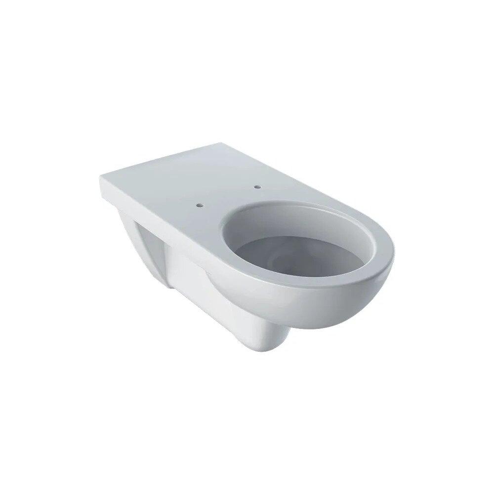 Vas wc suspendat Geberit Selnova Comfort proiectie alungita fara capac alb