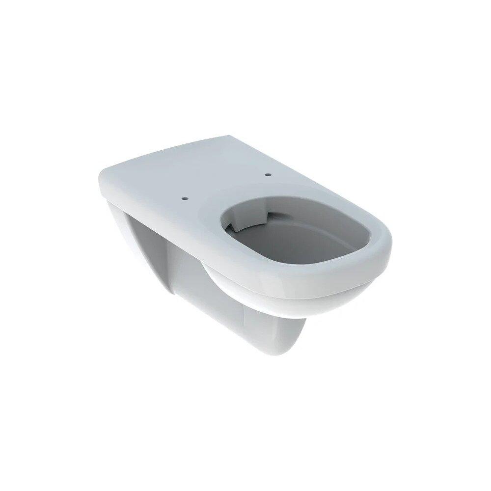 Vas wc suspendat Geberit Selnova Comfort Rimfree protectie alungita fara capac alb