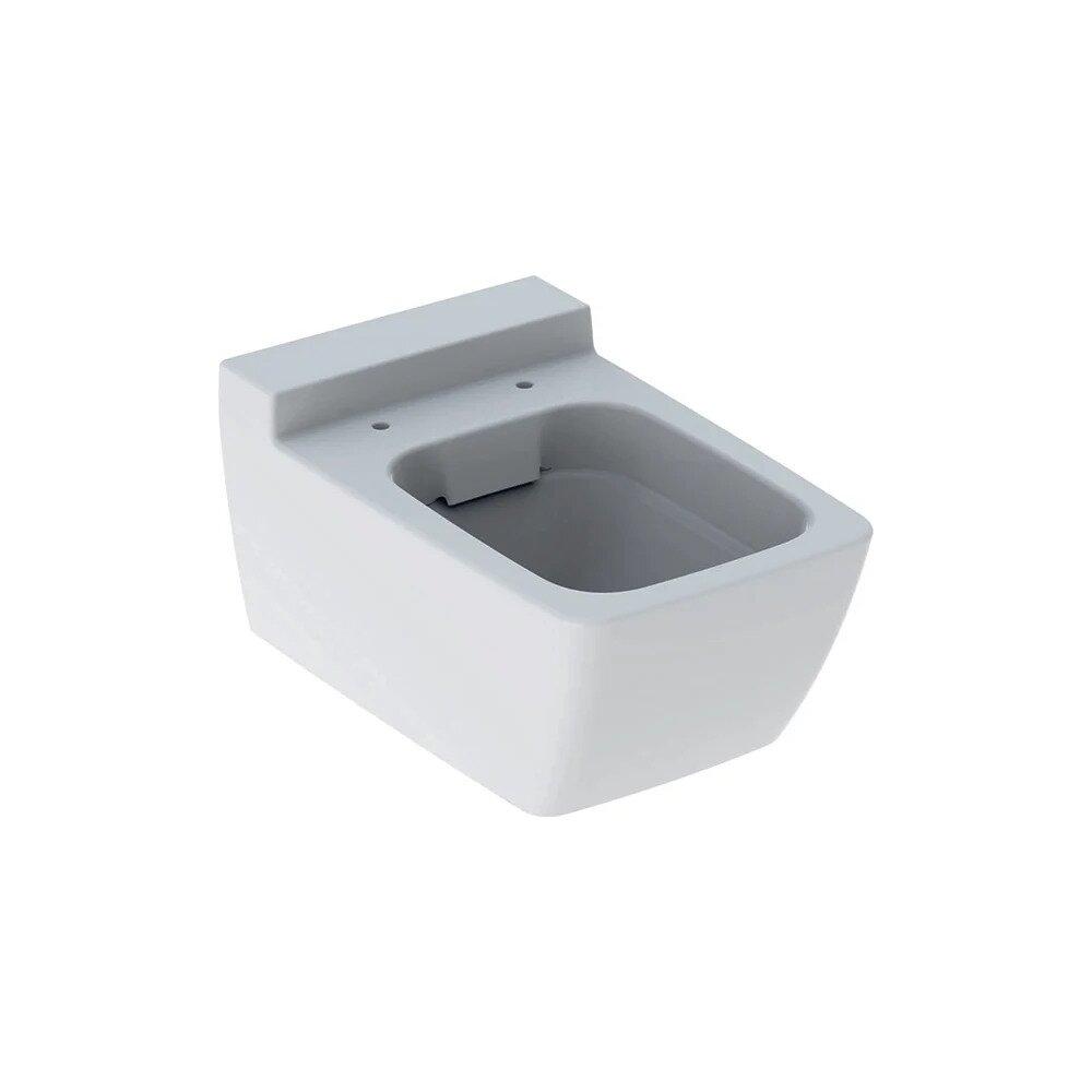 Vas wc suspendat Geberit Xeno² Rimfree cu spalare verticala alb poza