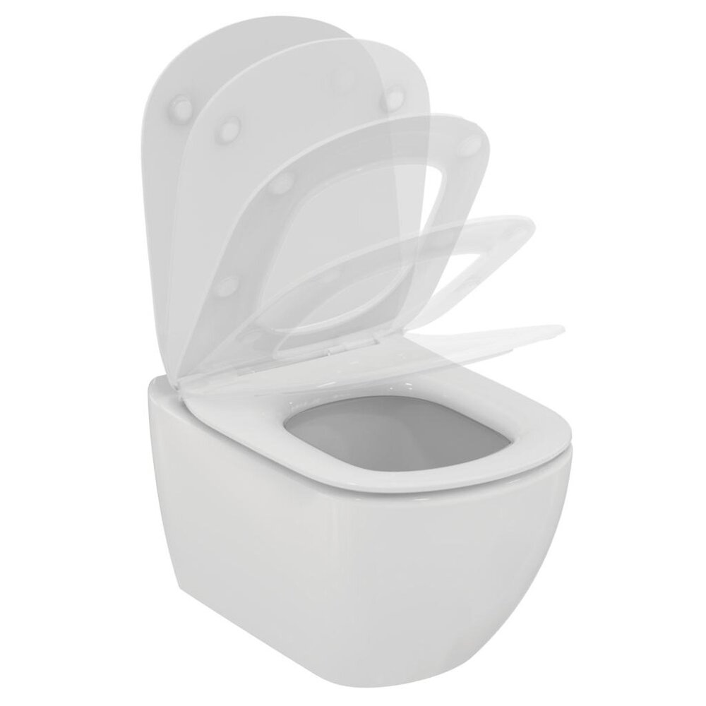 Vas wc suspendat Ideal Standard Tesi Aquablade alb mat