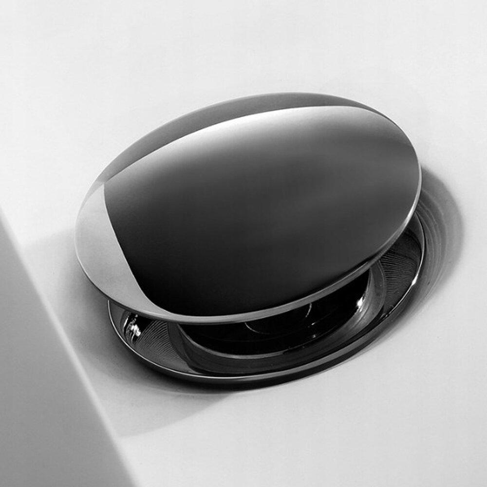 Ventil click clack cu preaplin Rea gri metalizat imagine