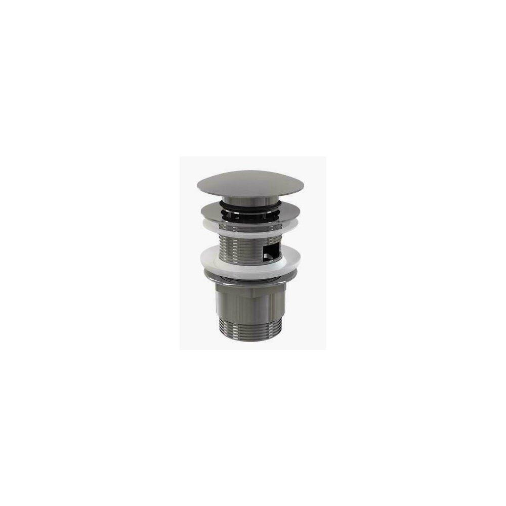 Ventil lavoar metalic cu click/clack 5/4 tol, dop mare A390 Alcaplast imagine