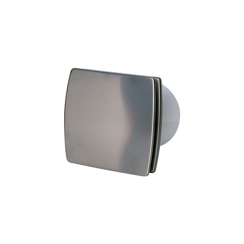 Ventilator de baie 100mm Elplast EOL F 10 B INOX imagine neakaisa.ro