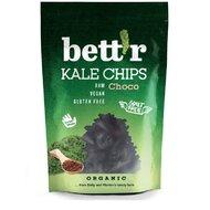 Chips din kale cu ciocolata raw bio 30g Bettr