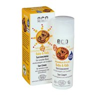 Crema bio protectie solara minerala bebe si copii FPS45, 100gr