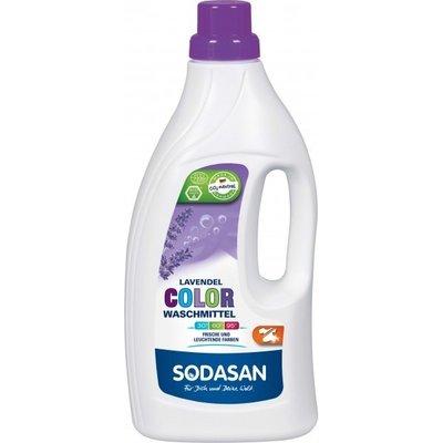 Detergent Bio Lichid Rufe Albe si Color Lavanda 1,5 L Sodasan