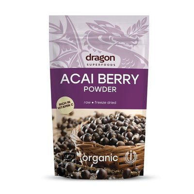 Acai pulbere raw bio 75g DS