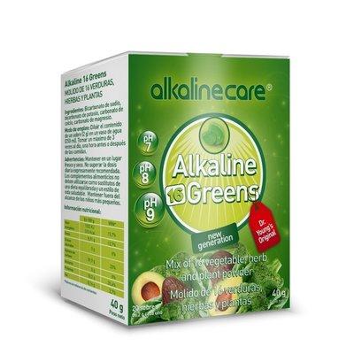 Alkaline 16 Greens 20 plicuri x 2g