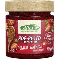 Allos - Pesto cu tomate si nuci, bio, 125g