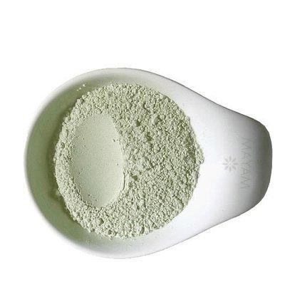 Argilă verde fină uscată la soare, 100 gr