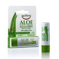 Balsam de buze stick protector cu Aloe Equilibra 5.5 ml