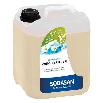 Balsam ecologic pentru rufe cu aloe vera 5L Sodasan