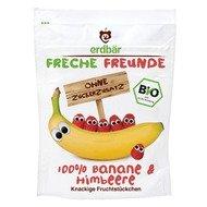 Banane si zmeura crocante bio 16g Erdbar PROMO