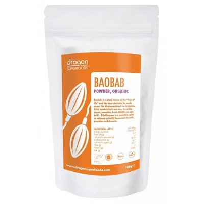 Baobab pulbere raw bio 100g DS