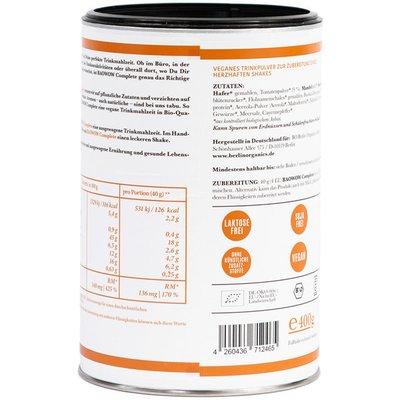 Baowow Complete cu rosii shake bio 400g Berlin Organics
