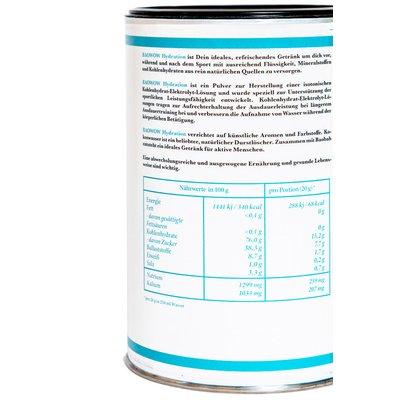 Baowow Hydration shake isotonic cu lamaie bio 400g Berlin Organics