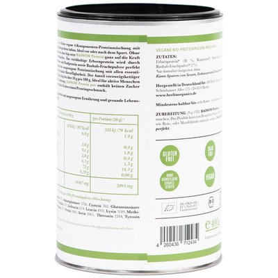 Baowow shake proteic PURE bio 400g Berlin Organics
