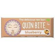 Baton cu afine raw bio 30g Quin Bite PROMO