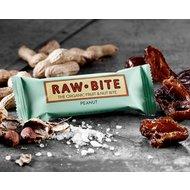 Baton cu arahide raw bio 50g RAW Bite
