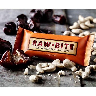 Baton cu nuci caju raw bio 50g RAW Bite