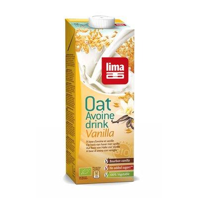 Lapte vegetal de ovaz cu vanilie bio 1L
