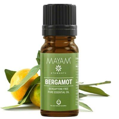 Ulei esential de bergamota fara bergapten, 10 ml, Mayam