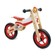 Bicicleta din lemn fara pedale cu inaltime reglabila