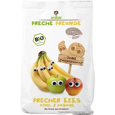 Biscuiti cu mere si banane bio 125g ERDBAR PROMO