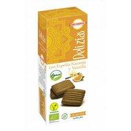 Biscuiti din spelta cu portocale si vanilie, indulciti cu agave bio 135g Bio Darma
