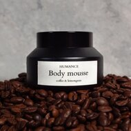 Body Mousse Cafea, 100 ml - Humance Cosmetics