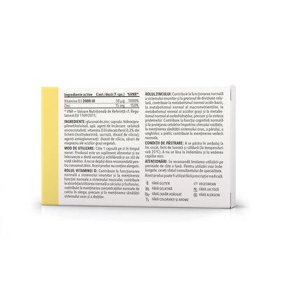 Btonic - Vitamina D + Zinc, 30cps