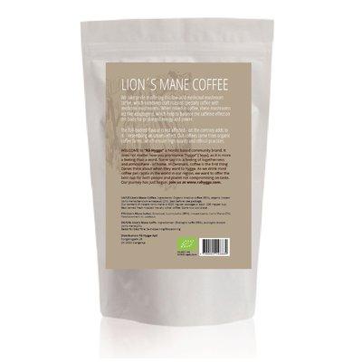 Cafea Organica Gourmet, cu Extract de Coama Leului, 227g