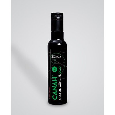 CANAH HEMP OIL BIO 250ml (ulei de canepa)