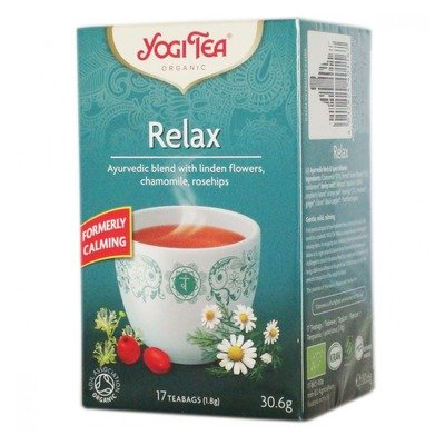 Ceai Bio CALMANT Yogi Tea, 17dz